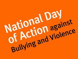 National Day of Action against Bulling and Violence – 16th March